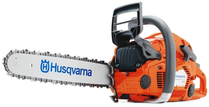 husqvarna chainsaw model 555