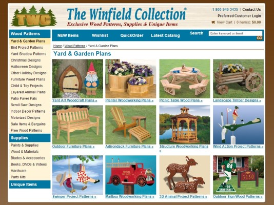 projects from The Winfield Collection