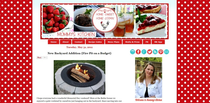 simple fire pit by Mommy´s Kitchen